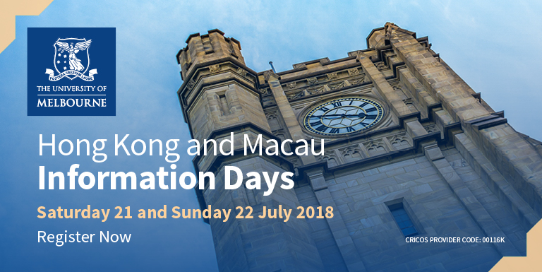 University of Melbourne Information Days